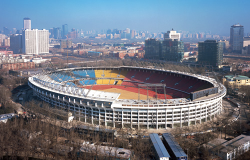 Beijing Worker's Stadium Sound Reinforcement System Project Chooses Beta Three