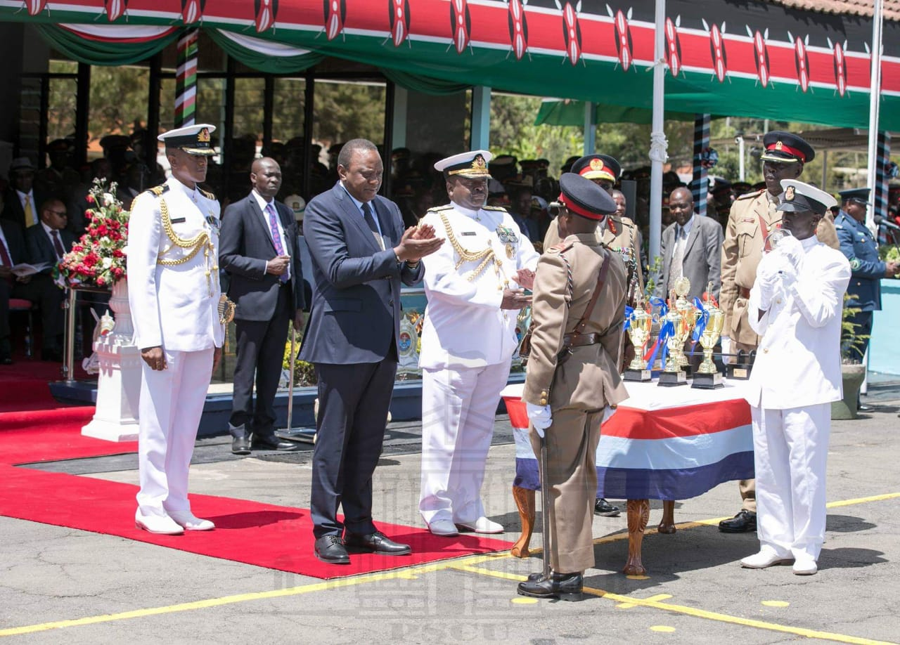Application for President Of Kenya Uhuru Kenyatta Commissioned Officer Cadets
