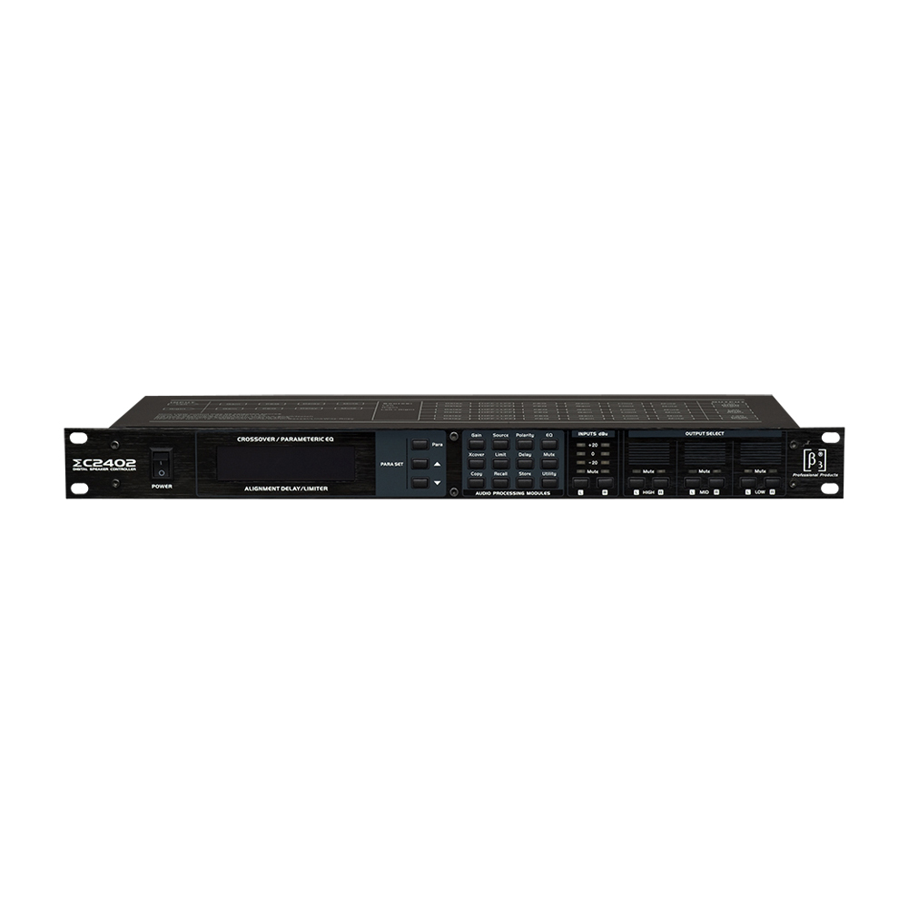 ΣC2402 Digital Speaker Management Processor