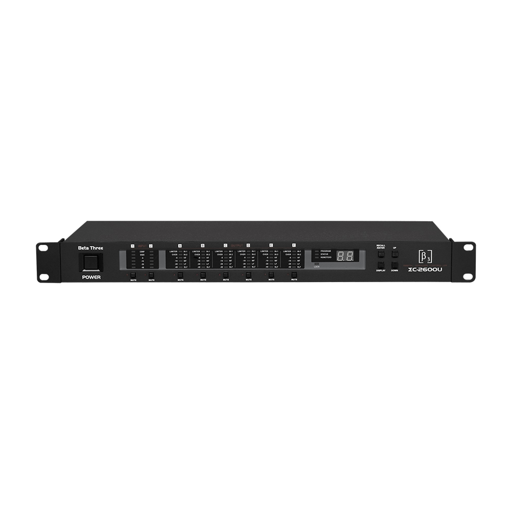 ΣC2600U Digital Speaker Management Processor