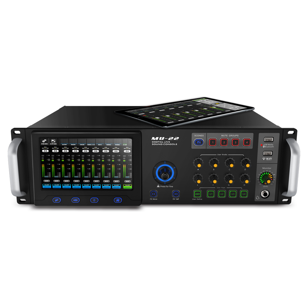 MU22 - Digital Live Sound Console