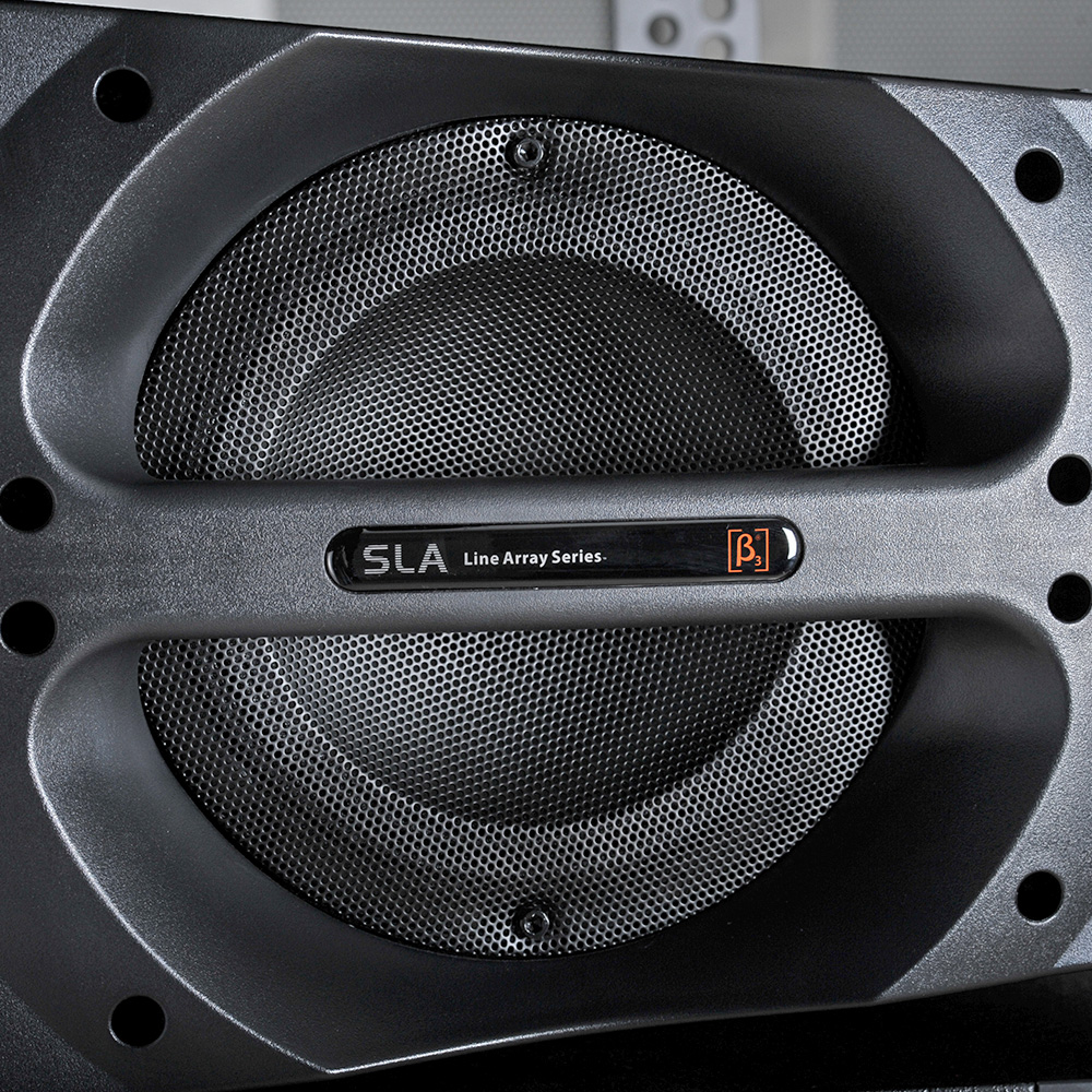 SLA10Ha - 5-Transducer 3-Way Active Full Range Speaker