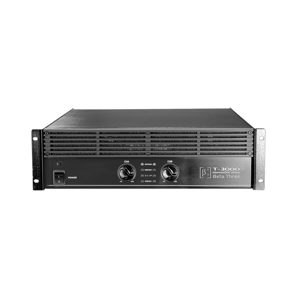 T-3000 - Professional Power Amplifier