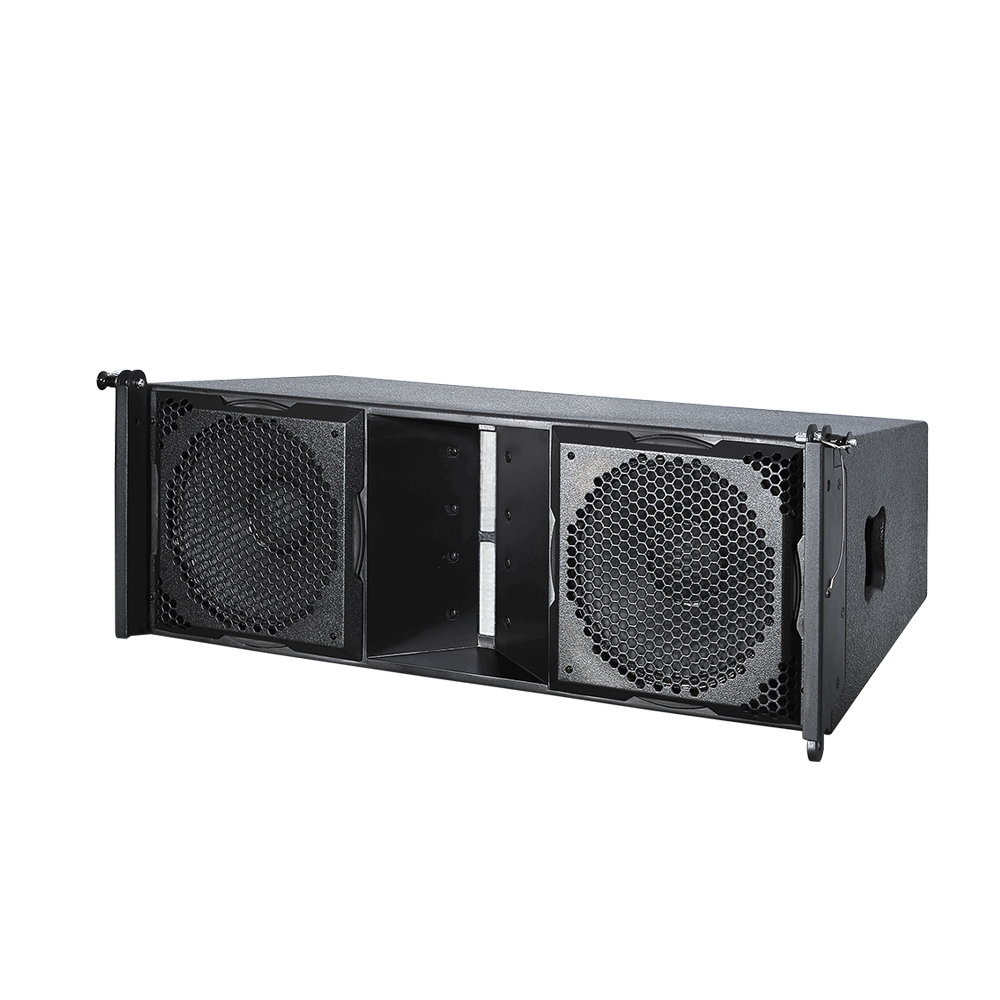 "TLA-101 Dual 10"" 2-way Line Array Speaker"
